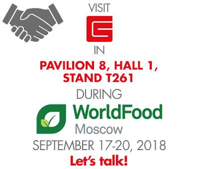 Garibsons To Exhibit at World Food Moscow 2018