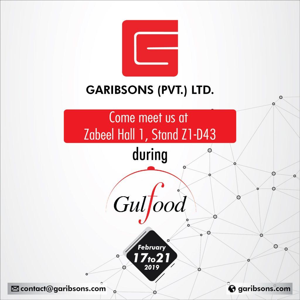 Garibsons at Gulf Foods 2019
