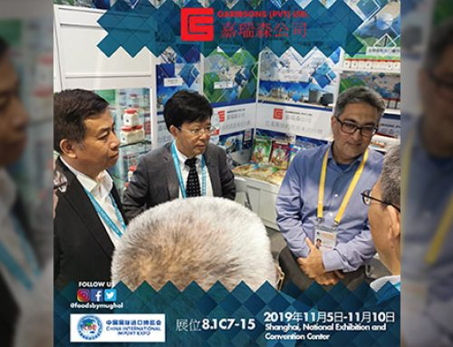 Garibsons at China International Import Expo 2019 in Shanghai