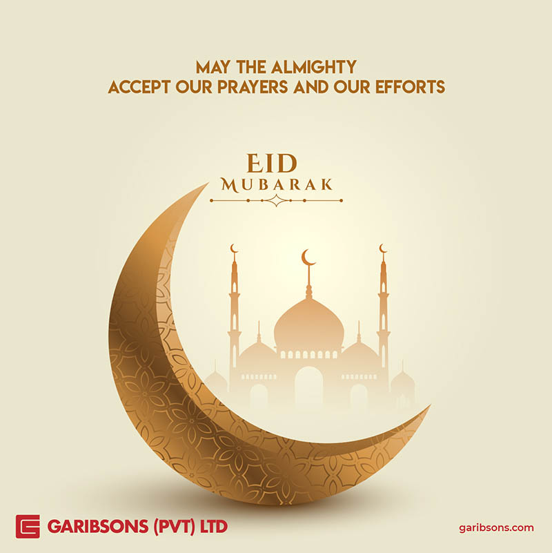 Garibsons wishes you Eid Mubarak